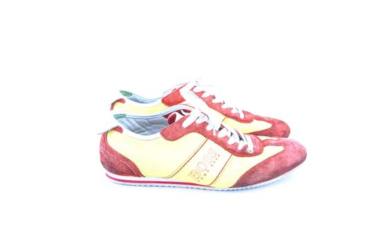 Hugo Boss * Yellow/Red Red/Yellow Sneakers Shoes Image 3