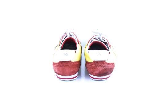 Hugo Boss * Yellow/Red Red/Yellow Sneakers Shoes Image 4