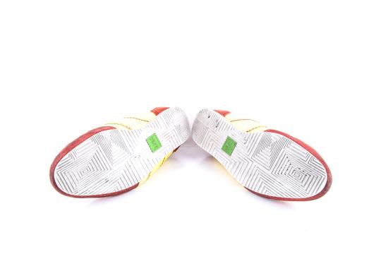 Hugo Boss * Yellow/Red Red/Yellow Sneakers Shoes Image 6