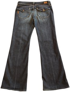 Paige Boot Cut Jeans-Distressed