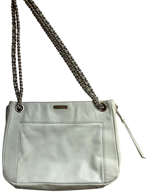 Item - Off White Leather Shoulder Bag