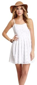 BB Dakota short dress white on Tradesy