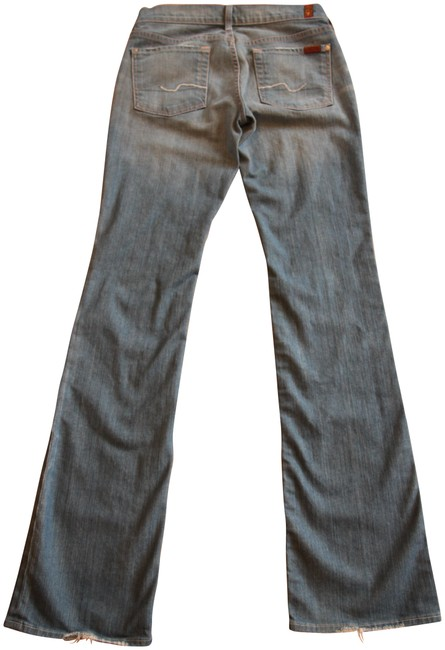 Item - Blue Light Wash Extra Long Boot Cut Jeans Size 30 (6, M)