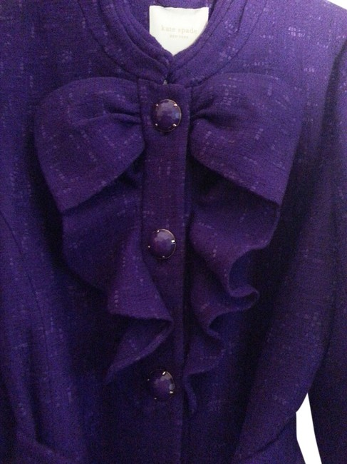 Item - Eggplant Jewelbox Coat Size 12 (L)