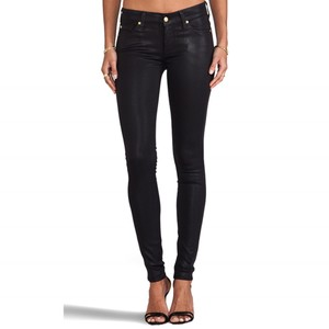 7 For All Mankind Coated Skinny Jeans-Coated
