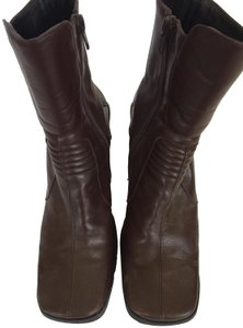 Goffredo Fantini Leather Ankle Brown Boots
