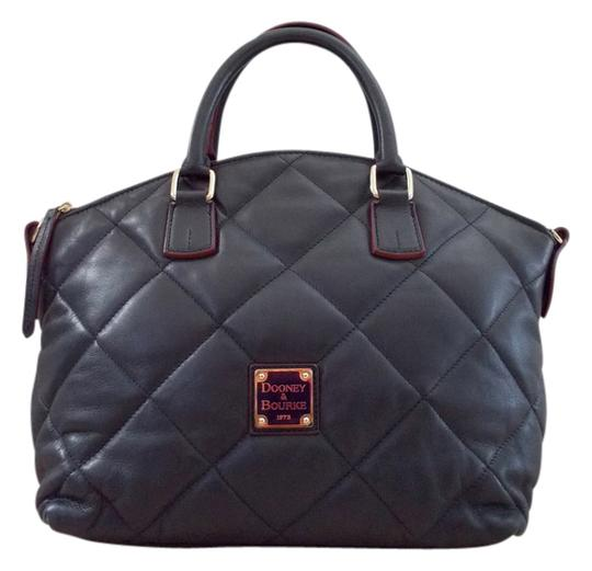 Preload https://item3.tradesy.com/images/dooney-and-bourke-navy-quilted-leather-satchel-2328442-0-0.jpg?width=440&height=440