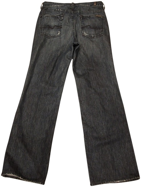Item - Blue Dark Rinse Men's Relaxed Fit Jeans Size 29 (6, M)