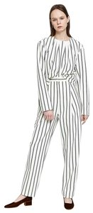 Tibi Lucci Matching Stripe Sculpted Top and Pant