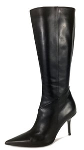 Dior Casual Business Night Out Date Night Leather Black Boots