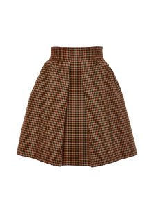 Delpozo Pleated A Line Mini Skirt