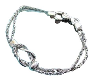 Tiffany & Co. Tiffany & Co. Double Rope Love Knot Bracelet