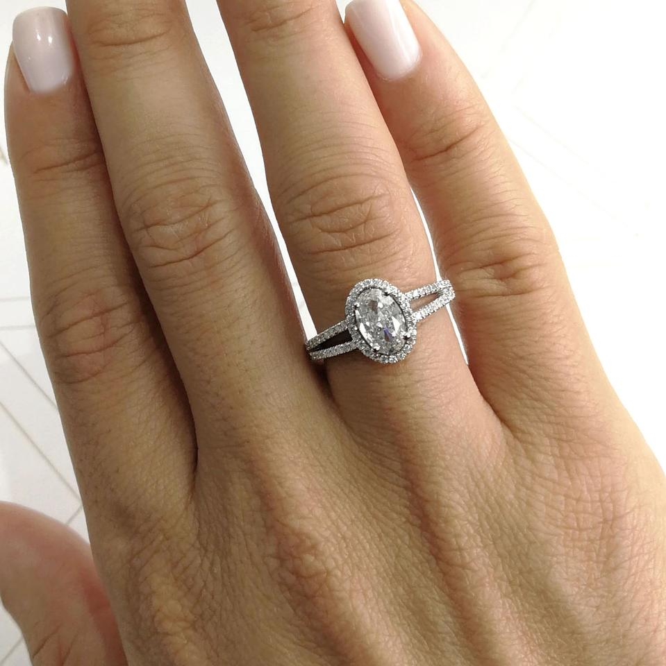 cushion viewing rings halo cut karat throughout engagement photo ring attachment diamond of gallery carat youtube