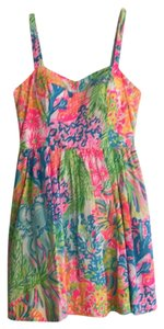 Lilly Pulitzer short dress Bright colorful dress :) on Tradesy