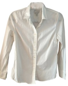 J. Crew Button Down Shirt White