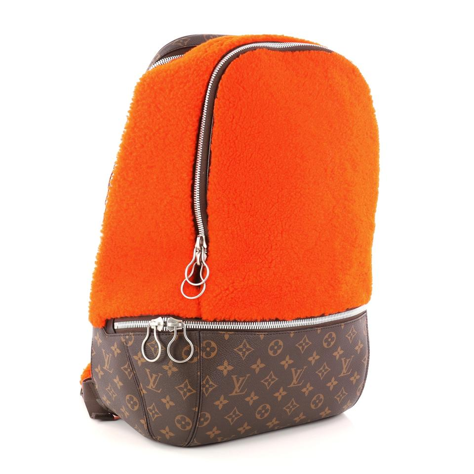73c9bee29f06 Louis Vuitton Limited Edition Marc Newson Shearling and Monog Orange ...