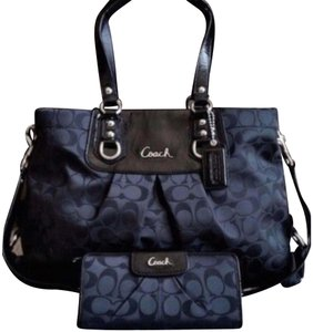 6dad9ed5fe96 Added to Shopping Bag. Coach Satchel. Coach Ashley Sateen Signature ...