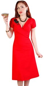 Stop Staring! Applique Stretchy Fitted Dress