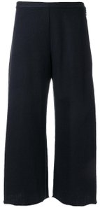 Simon Miller Wide Leg Culotte Culottes High Waist Capri/Cropped Pants Navy