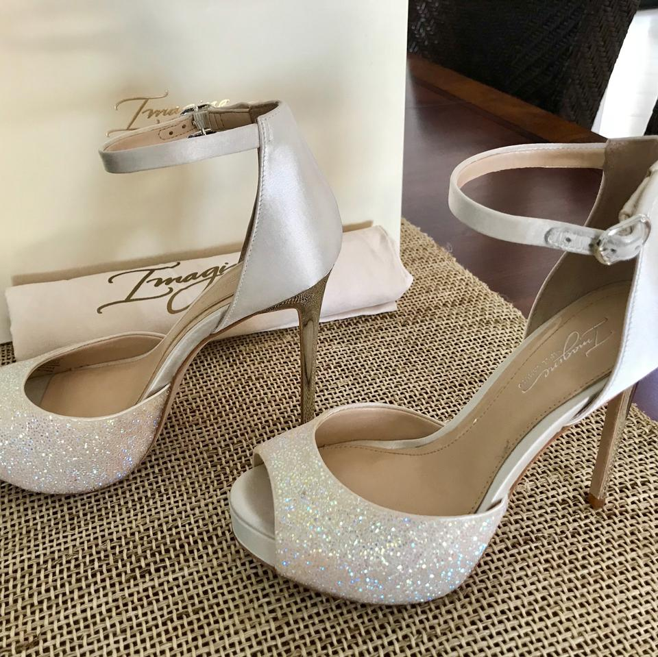 f479f993d1d Wedding Shoes Imagine by Vince Camuto Ivory crystal shimmer Formal Image 6.  1234567