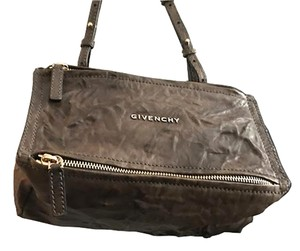 Givenchy Wrinkled Leather Dust Cross Body Bag