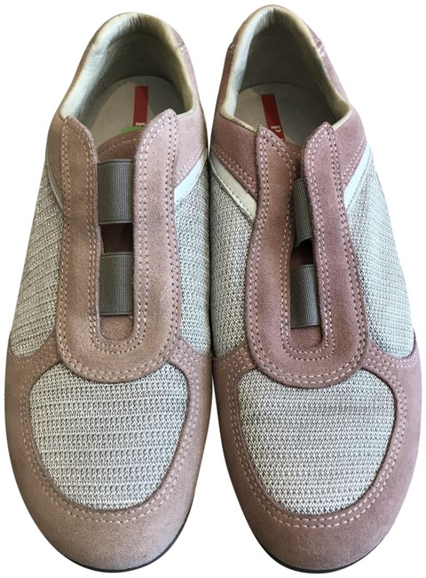 Item - Pink and Grey Sport Sneakers Size EU 37.5 (Approx. US 7.5) Regular (M, B)
