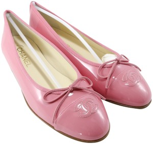 Chanel Classic Ballerina Pink Flats