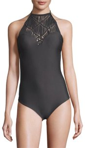 MIKOH Moorea Macrame One Piece Swimsuit