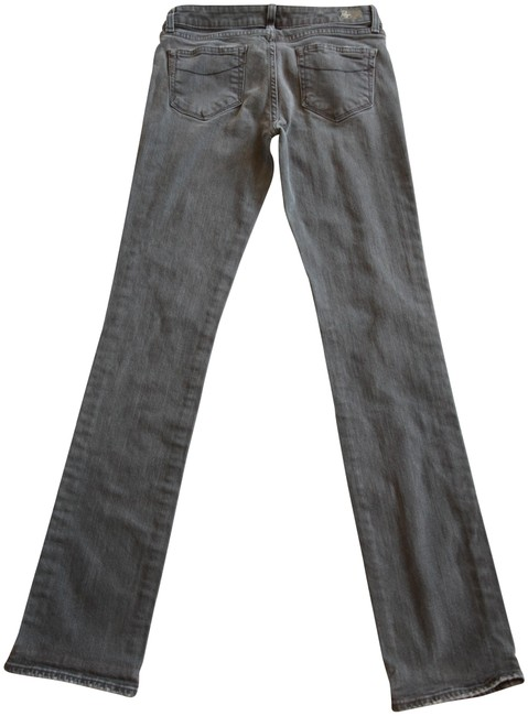 Paige Gray Blue Heights In Skinny Jeans Size 29 (6, M) Paige Gray Blue Heights In Skinny Jeans Size 29 (6, M) Image 1