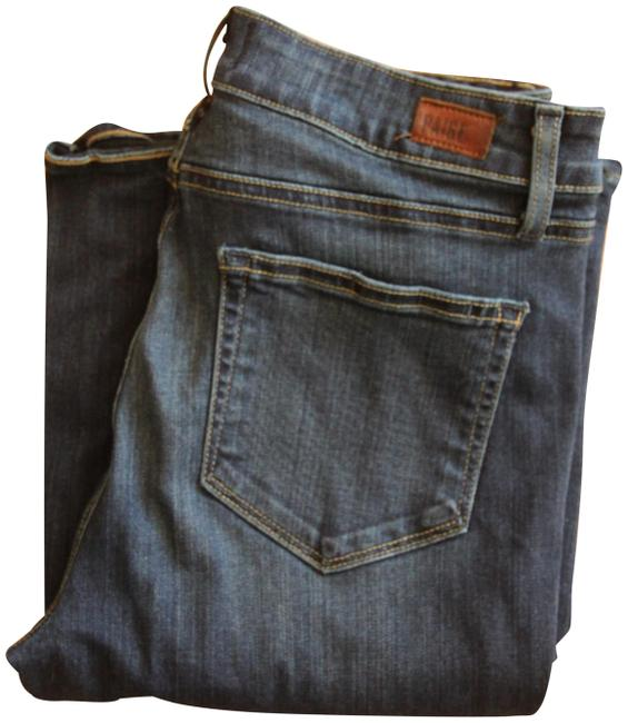Item - Blue Dark Rinse High Bell Canyon Long Inseam Flare Leg Jeans Size 29 (6, M)