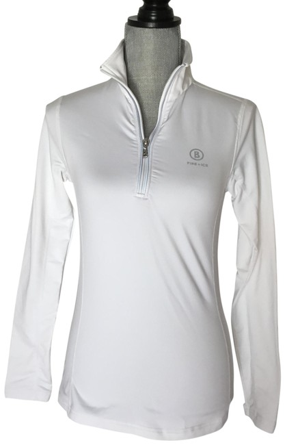 Item - White Sporty Activewear Top Size 6 (S)