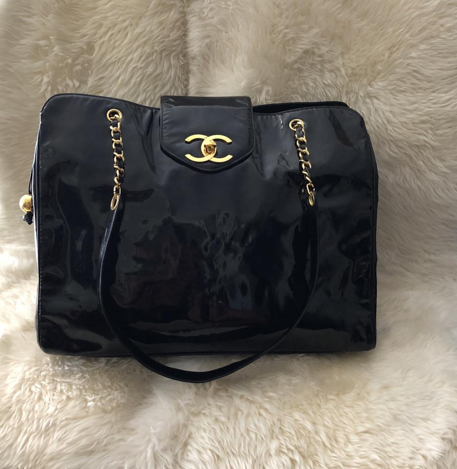 684c50ccac2512 Chanel Backpack Double Flap Boy Birkin Duffle Black Travel Bag Image 11.  123456789101112