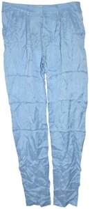 Adam Lippes Skinny Casual High-rise Trouser/Wide Leg Jeans-Light Wash