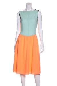 Roksanda Ilincic short dress Neon Orange on Tradesy