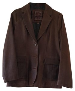 The Territory Ahead Brown Leather Jacket