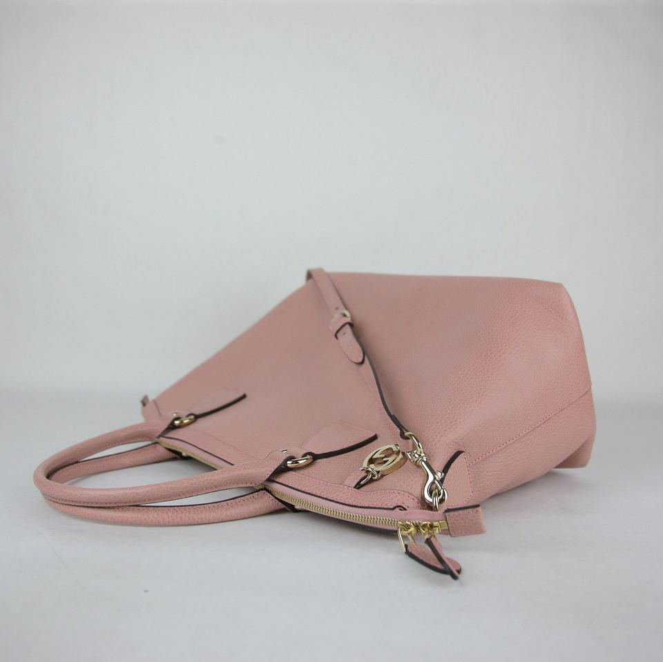 902fca120 Gucci Dome Gg Charm Convertible with Strap 449660 5806 Powder Pink Leather  Cross Body Bag - Tradesy