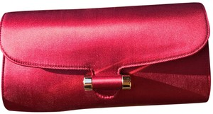 Saint Laurent ruby red Clutch