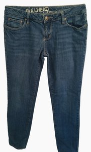 Bullhead Skinny Jeans-Light Wash