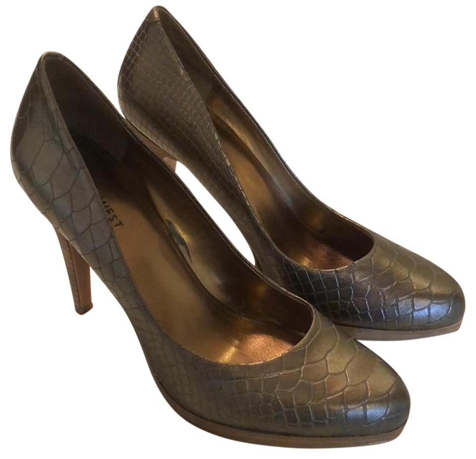 Nine West Brown Bronze Rocha Pumps Size US 8.5 Regular (M cb9138e30