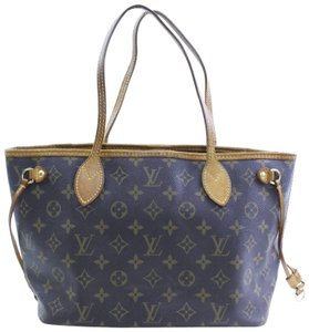Louis Vuitton Neverfull Mm Neverfull Pm Neverfull Neverfold Neverfill Tote in Brown