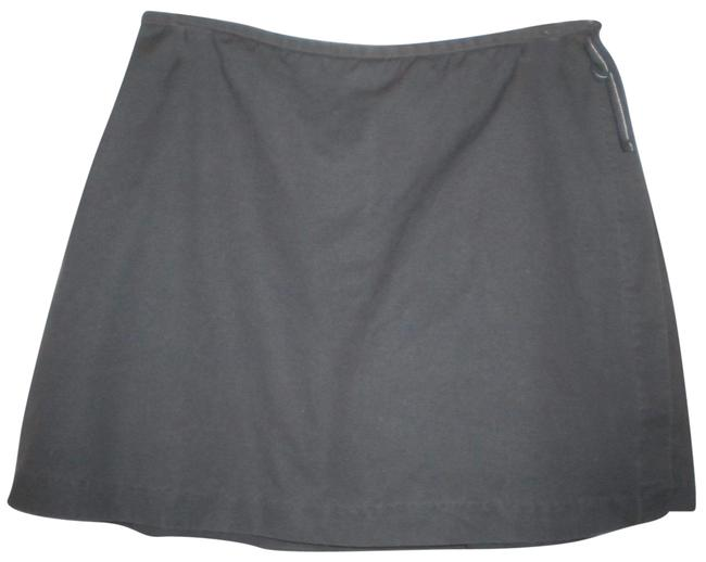 Gap Factory Store Cotton Skirt Outside Underneath Skort Navy Image 0