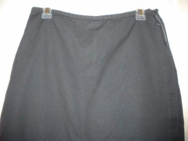 Gap Factory Store Cotton Skirt Outside Underneath Skort Navy Image 1