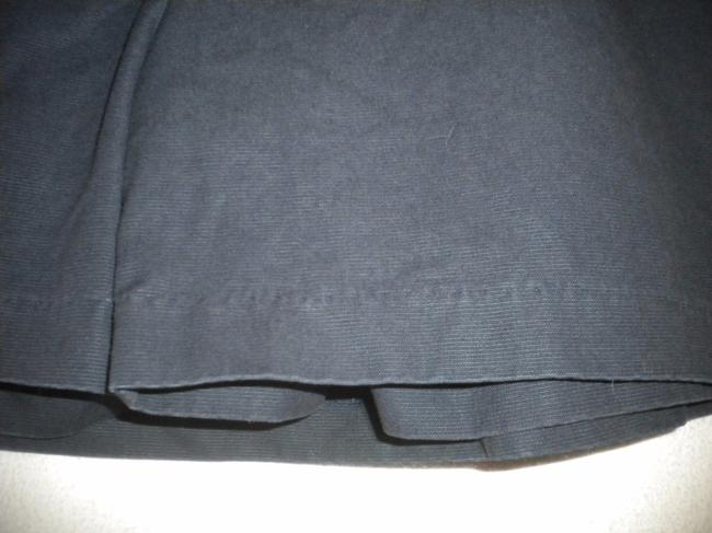 Gap Factory Store Cotton Skirt Outside Underneath Skort Navy Image 3