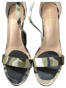 Mark and Maddux Green Sandals