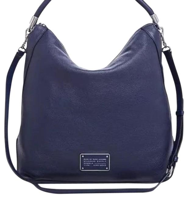 Item - Too Hot To Handle Deep Blue Leather Hobo Bag