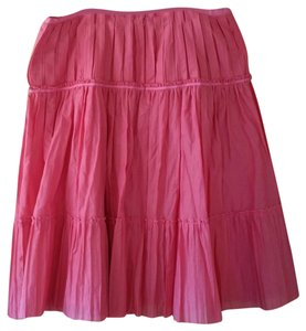Talbots Plus Size Circle Summer Spring Skirt pink