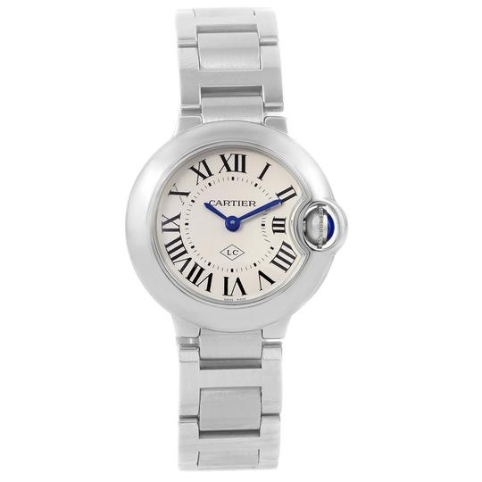 Cartier Cartier Ballon Blue Stainless Steel Small Ladies Watch W69010Z4 Image 1