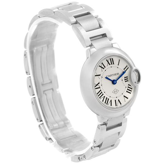 Cartier Cartier Ballon Blue Stainless Steel Small Ladies Watch W69010Z4 Image 2