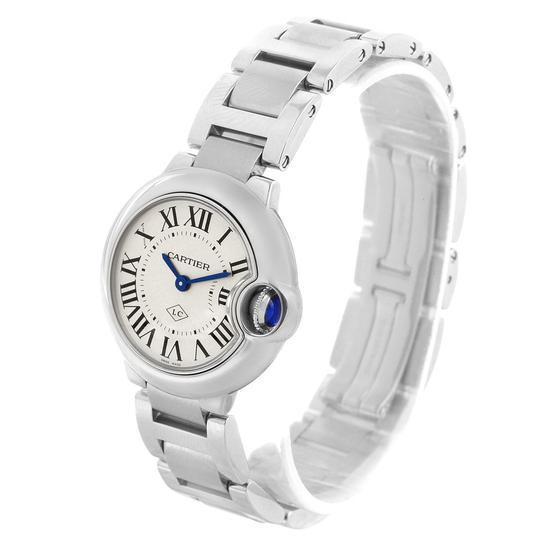 Cartier Cartier Ballon Blue Stainless Steel Small Ladies Watch W69010Z4 Image 3
