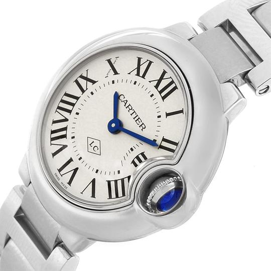 Cartier Cartier Ballon Blue Stainless Steel Small Ladies Watch W69010Z4 Image 4